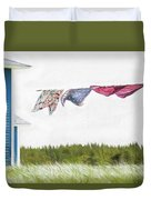 Newfoundland Quilts Duvet Cover