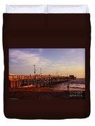 Newport Beach Glow Duvet Cover