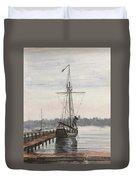 Newport, Rhode Island Duvet Cover by Rosemary Kavanagh