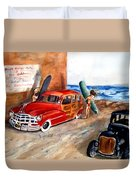 Newport Woody Duvet Cover