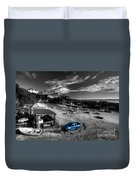 Newquay Harbour  Pickup  Duvet Cover