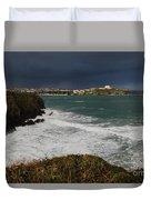 Newquay Squalls On Horizon Duvet Cover