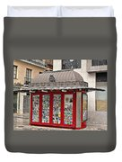 Newspaper Stand Duvet Cover