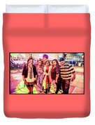 Zombie Gang Of Six Duvet Cover