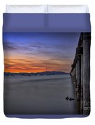 Next To Nothing Duvet Cover