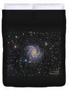 Ngc 6946, The Fireworks Galaxy Duvet Cover