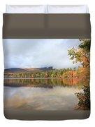 Color On The Lake  Duvet Cover