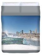 Niagara And Canada Duvet Cover