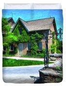 Niagara Falls Botanical Garden Y1 Duvet Cover