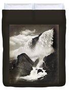 Niagara Falls, C1888 Duvet Cover