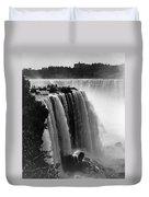 Niagara Falls, C1911 Duvet Cover