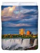 Niagara Falls - The American Side 3 Duvet Cover