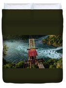 Niagara Falls The Whirlpool Duvet Cover