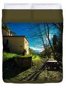 Niasca Hermitage I Portofino Park Passeggiate A Levante Duvet Cover