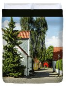 Nibe Street Life Duvet Cover