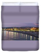 Nice At Night Duvet Cover