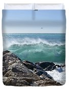 Nice Wave Duvet Cover