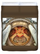 Niche Inlay 2-our Lady Of Victory Basilica Duvet Cover