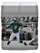 Nick Foles Eagles Super Bowl 2 Duvet Cover