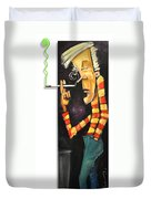 Nick Nolte The Lean Years Duvet Cover