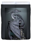 Nickel Dragon Duvet Cover