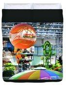 Nickelodeon Universe Indoor Amusement Park Duvet Cover