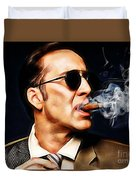 Nicolas Cage Collection Duvet Cover