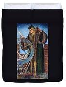 Nicolaus Copernicus Duvet Cover