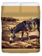 Nigerian Donkey Duvet Cover