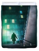 Night Agent Duvet Cover