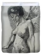 Night Angel Duvet Cover