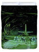 Night Angels Duvet Cover