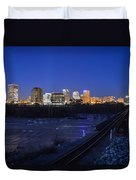 Night At The Floodwall 2 Duvet Cover