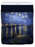Night At The Lake Duvet Cover