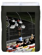 Night At The Races Duvet Cover