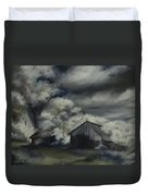 Night Barn Duvet Cover by James Christopher Hill