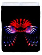 Night Eagle Duvet Cover
