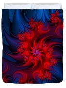 Night Fire Duvet Cover