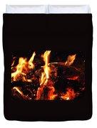 Night Fire  Duvet Cover