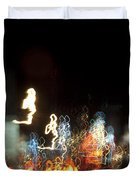Night Forest - Light Spirits Limited Edition 1 Of 1 Duvet Cover