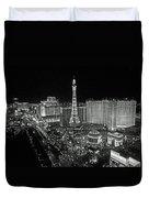 night in Vegas Duvet Cover