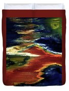 Night Lava #02 Duvet Cover