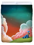 Night Lights Duvet Cover by Cindy Thornton