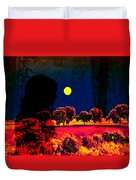 Night Loneliness Duvet Cover