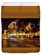 Night Moods San Jose Ca  Duvet Cover