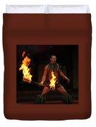 Night Of Fire Duvet Cover