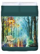 Night Of Inspiration Duvet Cover