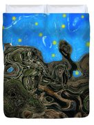 Night Petrified Duvet Cover
