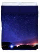 Night Sky Over County Mayo Duvet Cover