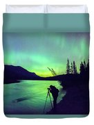 Night Sky Photographer Duvet Cover
